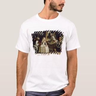 Las Meninas detail of the lower half depicting T-Shirt