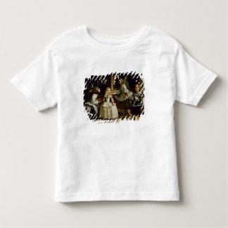 Las Meninas detail of the lower half depicting Toddler T-Shirt