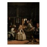 Las Meninas Diego Velázquez Fine Art Postcard