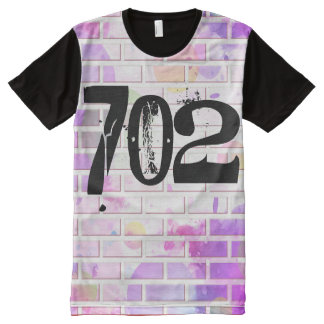 Las Vegas 702 All-Over Print T-Shirt