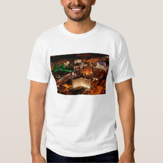 Las Vegas aerial view from a blimp T-shirts
