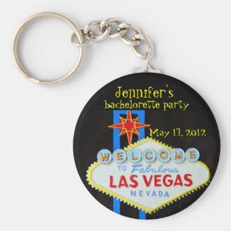 Las Vegas Bachelorette Party Favor Key Ring
