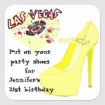 Las Vegas Birthday Party Shoes
