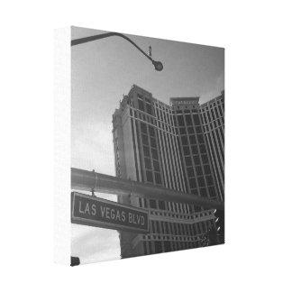 Las Vegas Blvd Canvas Canvas Print