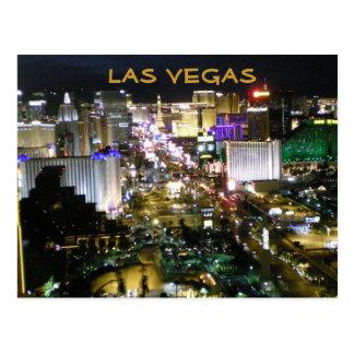 Las Vegas Boulevard at Night Postcard