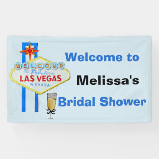 Las Vegas Bridal Shower Welcome Sign