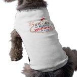 Las Vegas Bride Dog T Shirt