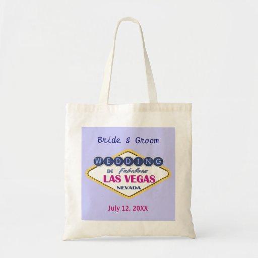 Las Vegas Bride & Groom - Customize Bag