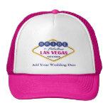 Las Vegas Bride Hat.
