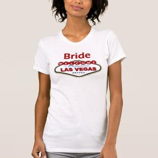 Las Vegas Bride T-Shirt NEW Deep Red Color!