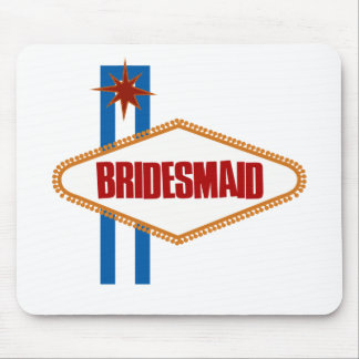 Las Vegas Bridesmaid Mouse Pad