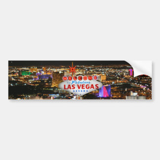 Las Vegas Bumper Sticker
