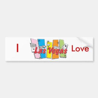 Las-Vegas- Bumper Sticker