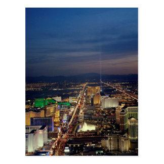 Las Vegas by Night 2 Postcard
