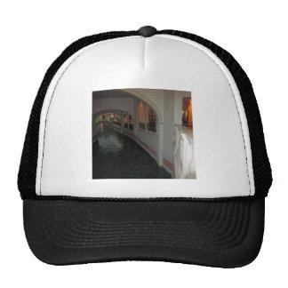 LAS VEGAS Canals below Resorts Hotels Casinos City Hats
