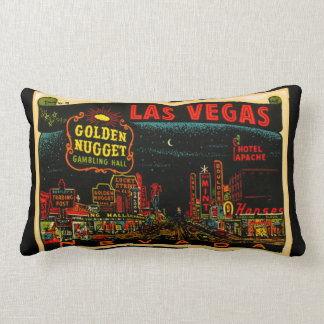 Las Vegas Casino Strip Lumbar Pillow
