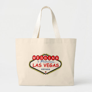 Las Vegas Cherry Red Wedding Tote Bag, cherry logo
