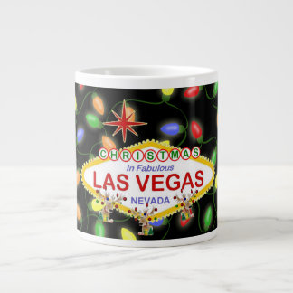 Las Vegas Christmas Espresso Mug