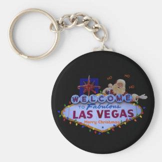 Las Vegas Christmas Keychain
