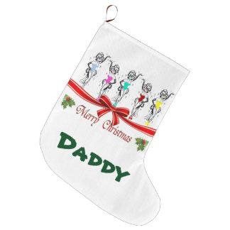 Las Vegas Christmas Stocking. Daddy Large Christmas Stocking