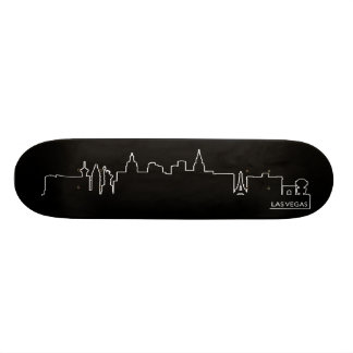 Las Vegas cityscape Custom Skate Board