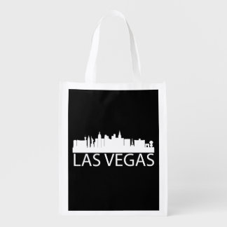 Las Vegas Cityscape Grocery Bags