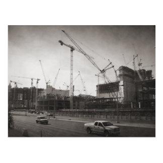 Las Vegas Construction Postcard