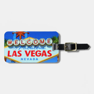 Las Vegas Customized Luggage Tag