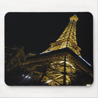 las vegas eiffel tower mouse pad