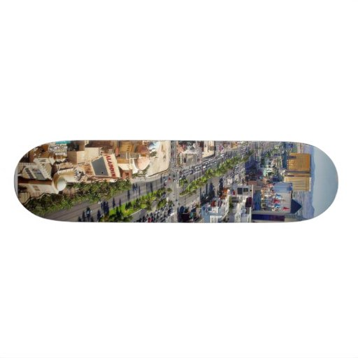 Las Vegas Eiffel Tower Strip Skate Board
