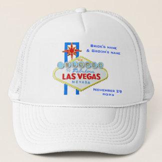 Las Vegas Elope Announcement Trucker Hat