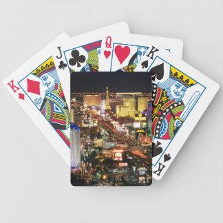 Las Vegas Evening Skyline Playing Cards