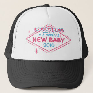 Las Vegas Expecting Custom Year Trucker Hat