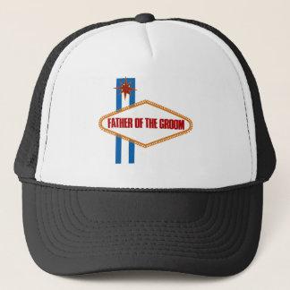 Las Vegas Father of the Groom Trucker Hat