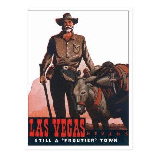 Las Vegas Frontier Town Postcards