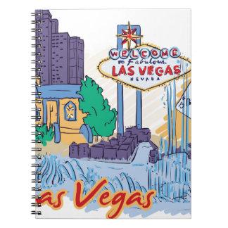 Las Vegas Fun In The Sun Notebooks