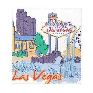 Las Vegas Fun In The Sun Notepad