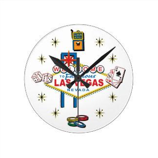 Las Vegas Gambling Icom Round Clock