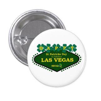 Las Vegas Happy St. Patrick's Day Button