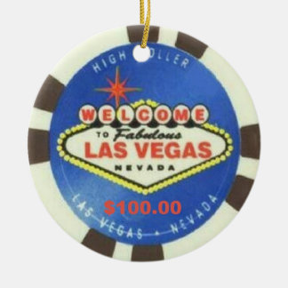 Las Vegas High Roller Ornament