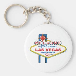 Las Vegas Honeymoon Key Ring