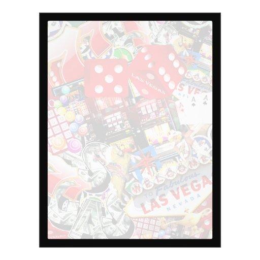 Las Vegas Icons - Gamblers Delight Flyer