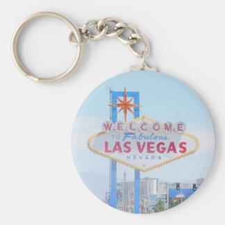 Las Vegas Keepsake Keychain