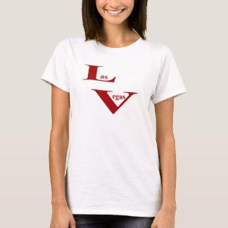 Las Vegas Ladies Fitted Spaghetti T-Shirt