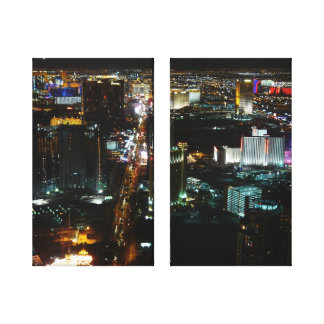 Las Vegas Lights Gallery Wrap Canvas
