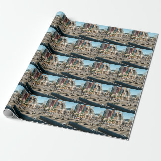 Las Vegas Lovers Wrapping Paper