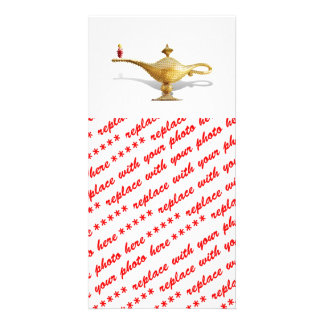 Las Vegas Magic Lamp Picture Card