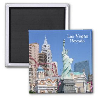Las Vegas Magnet! Square Magnet
