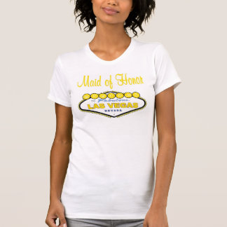 Las Vegas Maid of Honor T-Shirt