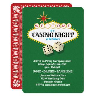 Las Vegas Marquee Casino Night Green Card